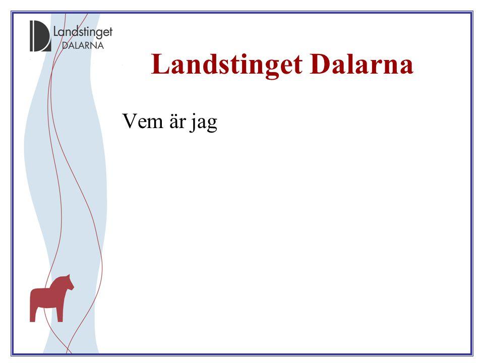 2008-01-25 Landstinget Dalarna är fjärde största landsting/region till yta (28 183 km 2 – ca 6% av Sverige - ungefär som Belgien) I Dalarna bor 3% (275 737) av Sveriges befolkning (2009-12-31) Landstinget Dalarna är länets största arbetsgivare med ca 8700 medarbetare Falu lasarett är Dalarnas största arbetsplats med ca 3000 medarbetare I Dalarna jobbar var femte löntagare inom vård och omsorg (var tredje kvinnlig löntagare)