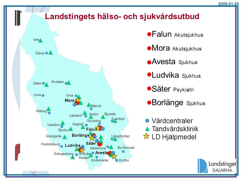 Förändring skatt 2009 (medelutdeb 10,86 +7 öre)  Gävleborg+20 öre10,87  Värmland+25 öre10,75  Kronoberg+45 öre10,65  Jämtland+45 öre10,60  Västmanland-15 öre10,50  Norrbotten+98 öre10,40  Sörmland+65 öre10,37