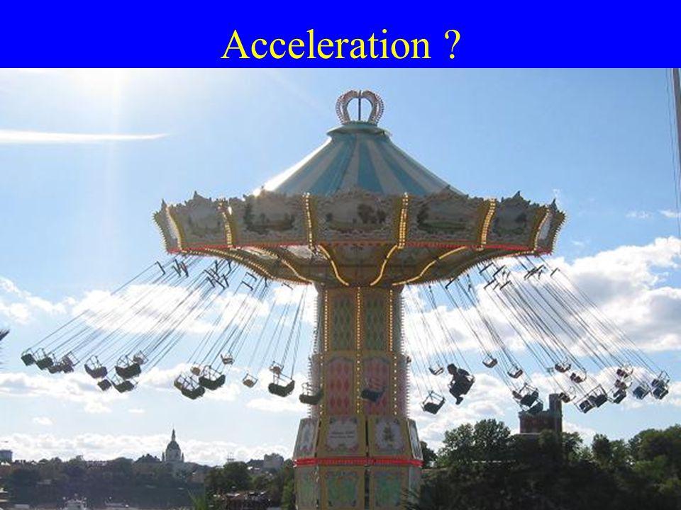 Acceleration ?