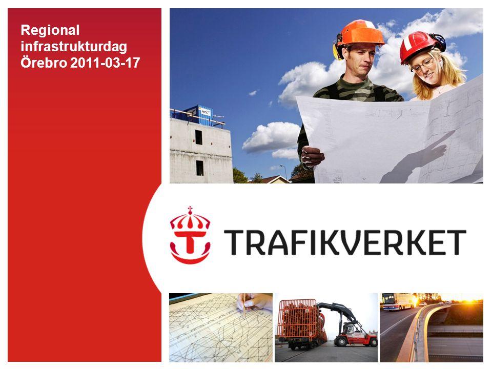 Regional infrastrukturdag Örebro 2011-03-17