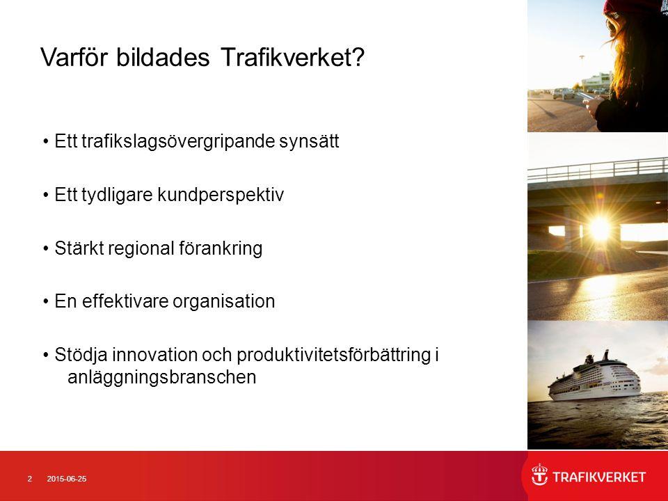 22015-06-25 Varför bildades Trafikverket.