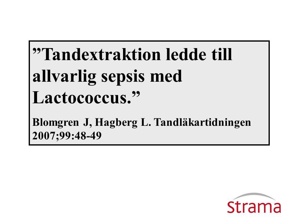 Johan Blomgren, övertandläkare johan.blomgren@vgregion.se Ulrica Dohnhammar, leg apotekare ulrica.dohnhammar@strama.se Antibiotikaanvändning inom tandvården.