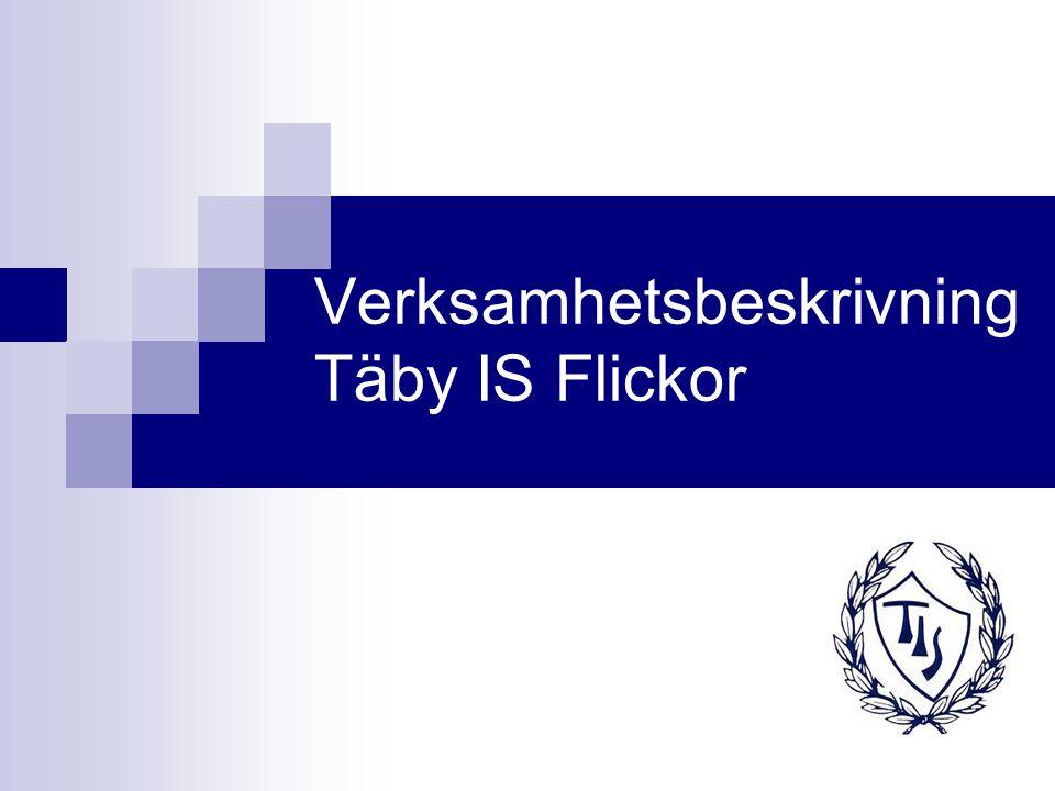 Verksamhetsbeskrivning Täby IS Flickor