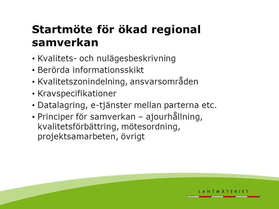 Nytt ramavtal SKL - Lantmäteriet Nytt avtal skall innefatta datadelning Version både för kommun som är partner och som väljer att stå vid sidan av detta Själva avtalsstrukturen är en öppen fråga, t.ex.