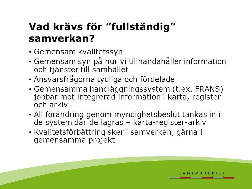 Svensk Geodatastrategi Focus på tillhandahållande I Norge började man att utveckla Geovekst över tio år före datadelningen via Norge Digitalt.