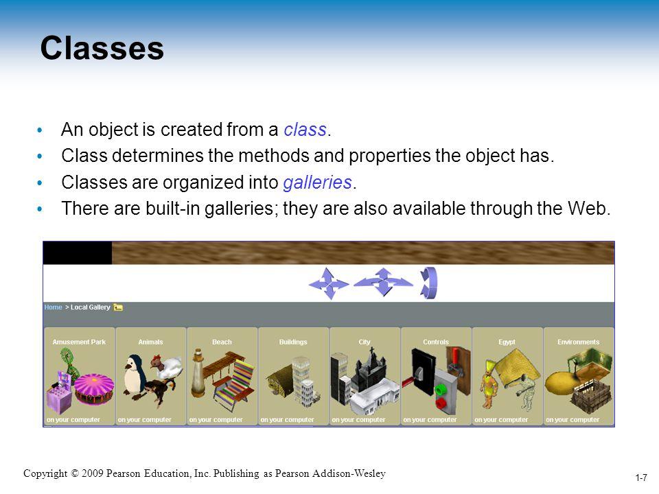 1-8 Copyright © 2009 Pearson Education, Inc.