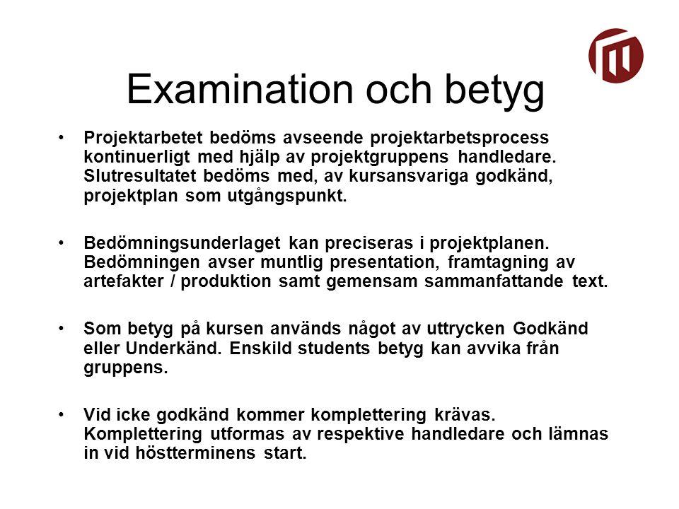 1.SVT – Den digitala mappen Studentuppgift: Skapa en produktionsmapp för SVTs anställda.