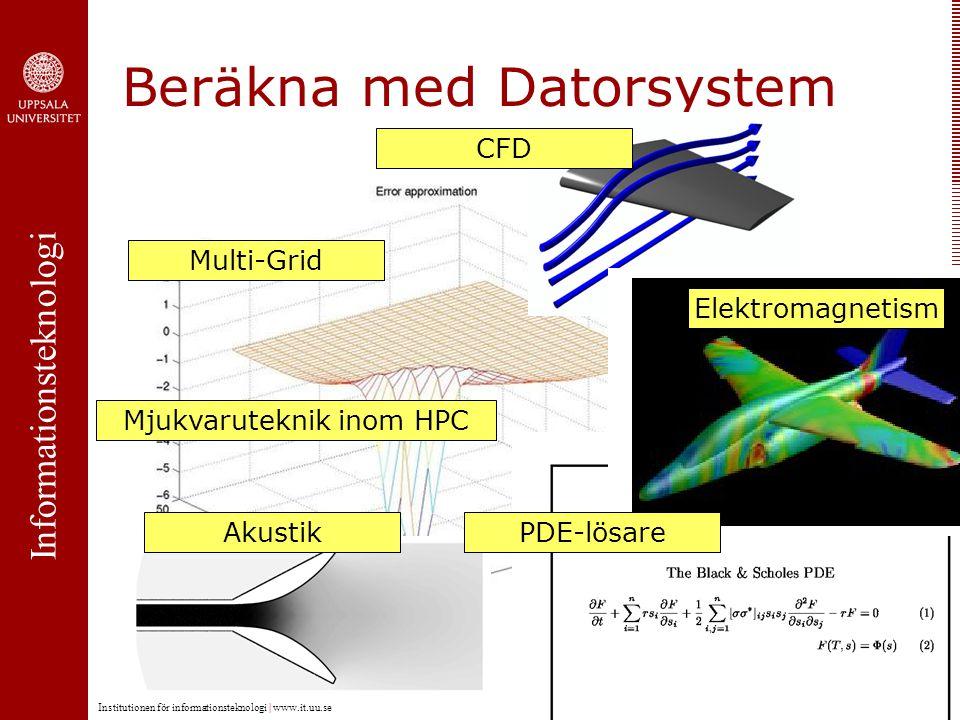 Informationsteknologi Institutionen för informationsteknologi   www.it.uu.se