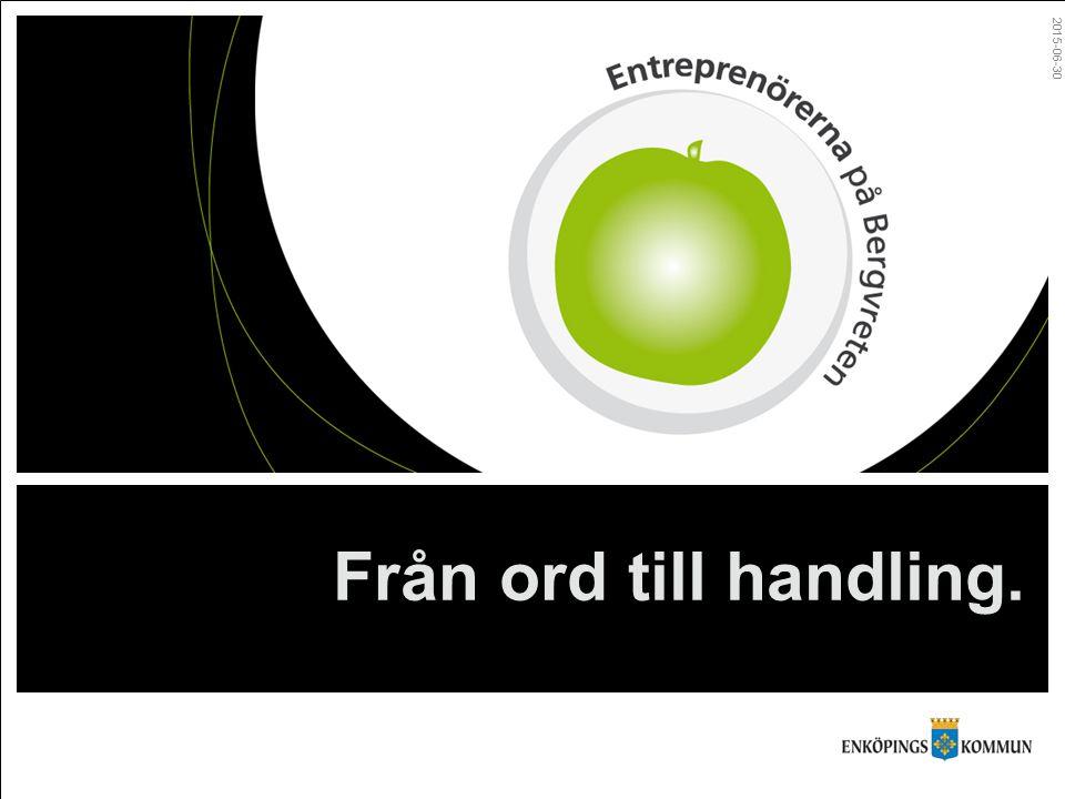 Varför entreprenörskap.Rustas för framtiden. Entreprenöriellt lärande.