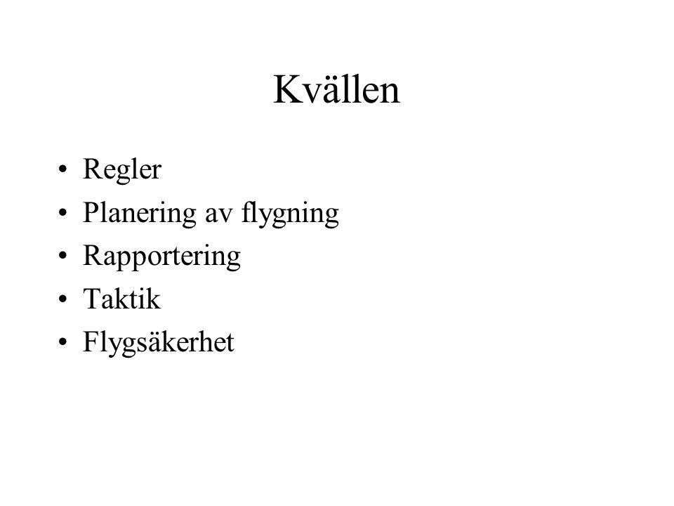 Innehåll Former för tävling Klasser Ban typer Tumregler Starlinje Brytpkt Mållinje Blanketten Rapportering