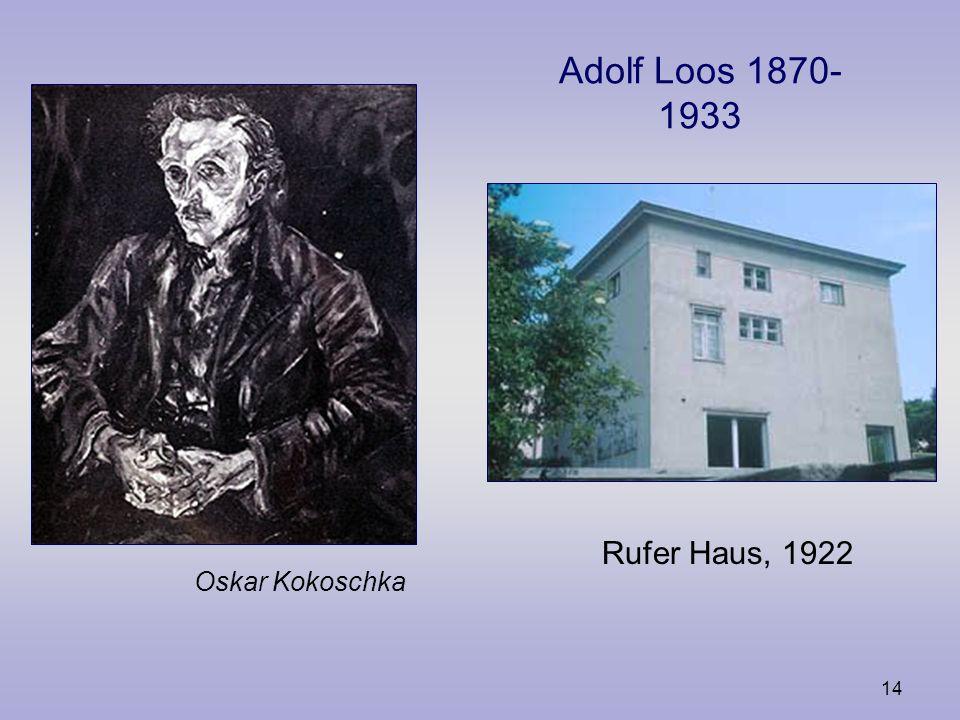 13 Arnold Schönberg 1874- 1951