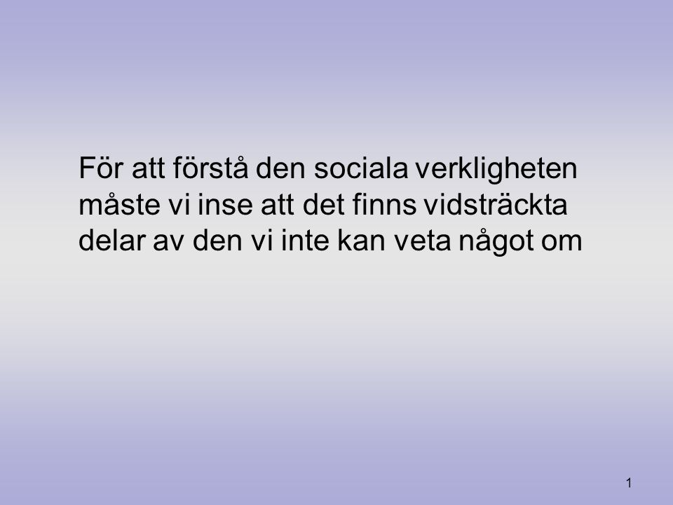 0 Friedrich Hayek och det ovetbara Filosoficirkeln, Lund Mars, 2008 Germund Hesslow 1899 1992