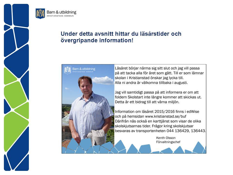 Milnergymnasiet Exp tel 044-13 59 58 www.kristianstad.se/milnergymnasiet Läsåret 2015/2016 börjar tisdagen 18 augusti, med upprop.