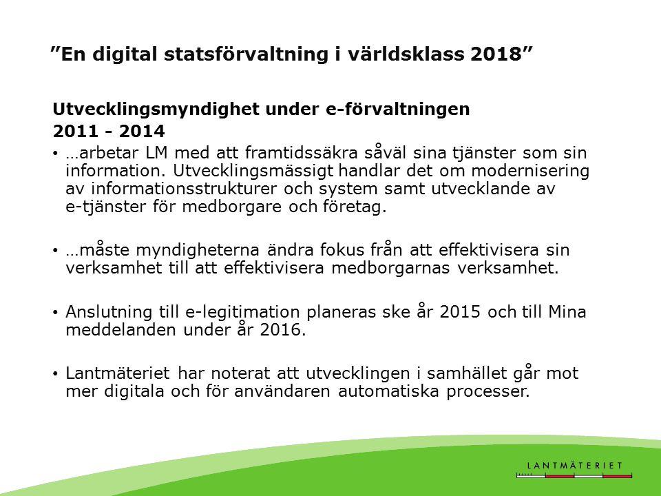 Vision 2013 – flexibla kontoret Stödja nya arbetssätt Effektivitet, flexibilitet och kreativitet Systemstöd Effektiv elektronisk lagring och åtkomst till information Minska användningen av papper så mycket som möjligt