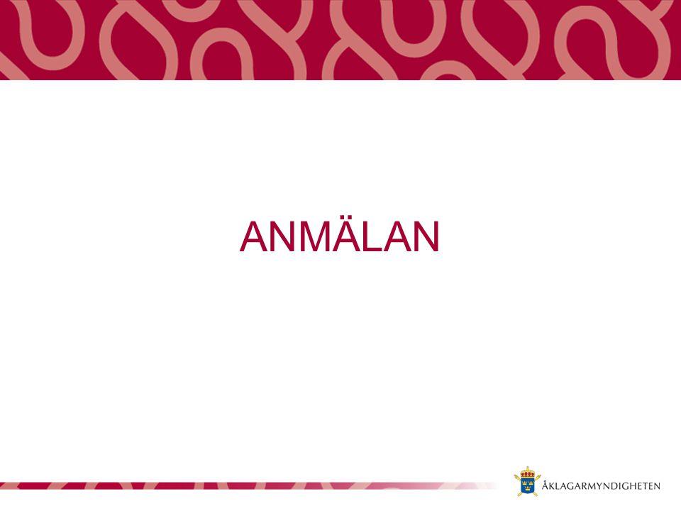 ANMÄLAN