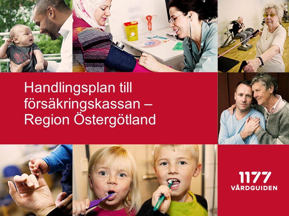 Handlingsplan till försäkringskassan – Region Östergötland