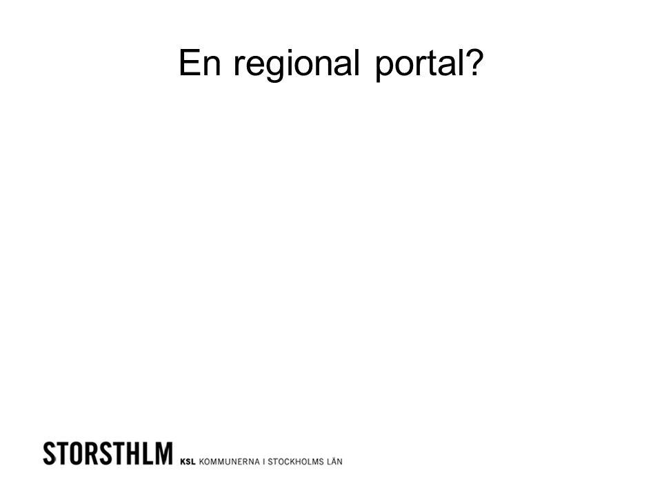 En regional portal?