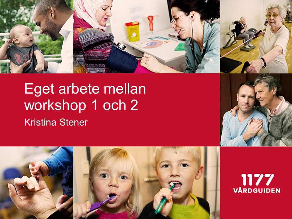 Eget arbete mellan workshop 1 och 2 Kristina Stener
