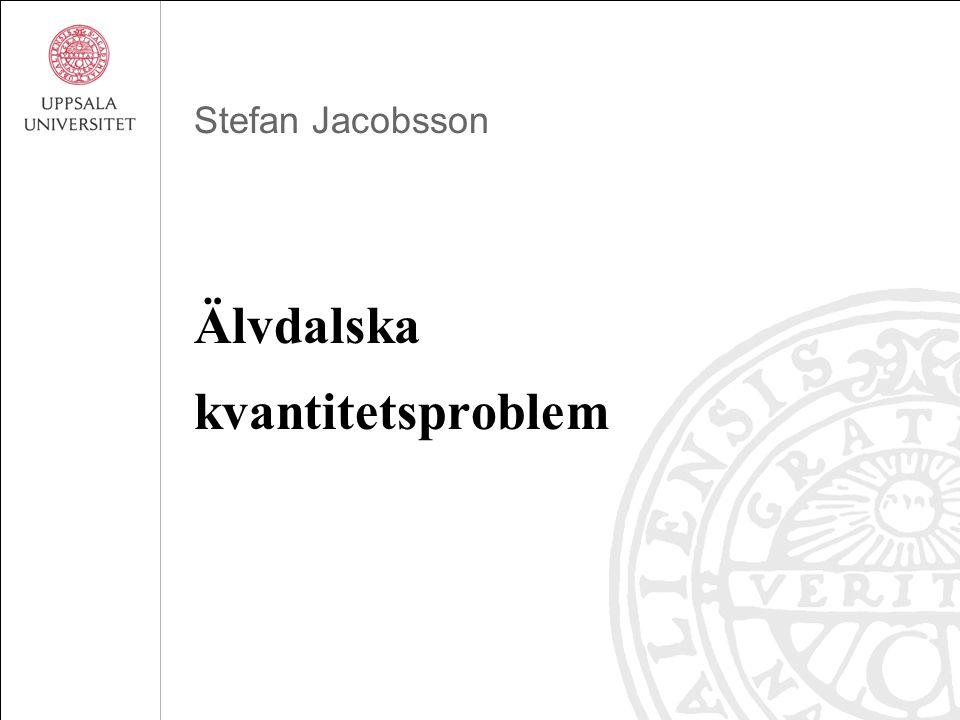 Stefan Jacobsson Älvdalska kvantitetsproblem