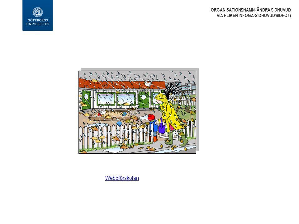 Webbförskolan