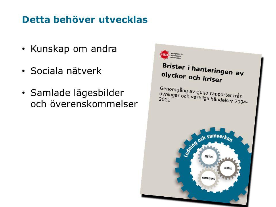 Myndigheten för samhällsskydd och beredskap 4.