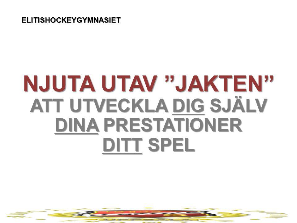 ELITISHOCKEYGYMNASIET SCHEMA ÅK 1 MÅNDAG TISDAG ONSDAG TORSDAG FREDAG A K T I V I T E T 8.00-9.00 IS BACKTRÄNING 8.00-9.00 IS MV-TRÄNING 9.15-9.45 FYS BACKAR & MV 8.00-10.00 FYS UP – FORWARDS SPEED 8.00-9.15 IS TEKNIK 9.30-10.00 FYS UP – STYRKA 8.00-9.00 IS TAKTIK 9.30-10.00 FYS UP – POWER SOVMORGON EXTRA RESURS: All fysiologisk träning i samband med HG ligger på Ultimate Performance (UP) och innehållet styrs utav UP:s kunskap och kompetens.