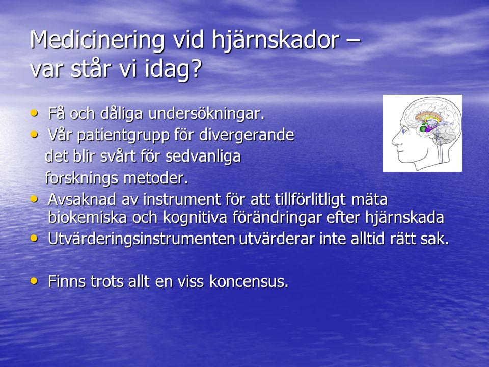 Artikel 2007 Läkartidningen: Farmakologiska möjligheter vid hjärnskadebehandling: rätt läkemedelsval kan optimera rehabiliteringsinsatserna Farmakologiska möjligheter vid hjärnskadebehandling: rätt läkemedelsval kan optimera rehabiliteringsinsatserna Jan Lexell, Märta Lindstedt,Christer Tengvar, Ann Sörbo Jan Lexell, Märta Lindstedt,Christer Tengvar, Ann Sörbo I stort stämmer allt ffa.