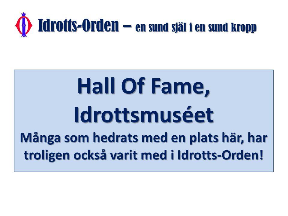 Nästan alla sportbilder i detta Powerpointprogram har välvilligt utlånats av www.bildbyran.se Övriga bilder kommer från egna fotografer : Bröderna Urban Börjesson, Mats Strömberg och Kurt Durewall m.fl.