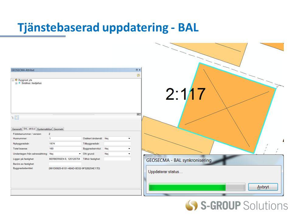 Tjänstebaserad uppdatering - BAL