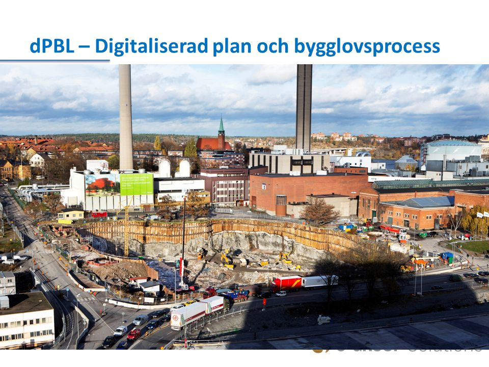 dPBL – Digitaliserad plan och bygglovsprocess