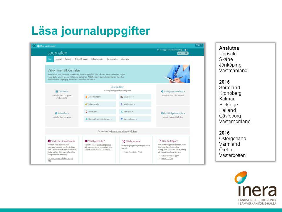 Fylla i hälsodeklaration och formulär Kan integreras i journalsystemen.