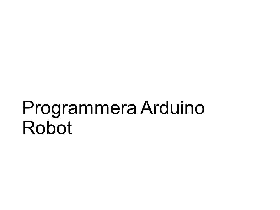 Programmera Arduino Robot
