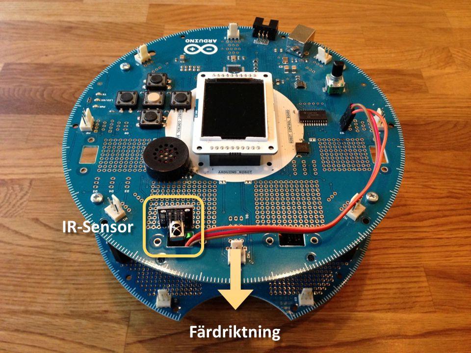 LCD-skärm Buzzer Knappar Reset-knapp Potentiometer USB-anslutning