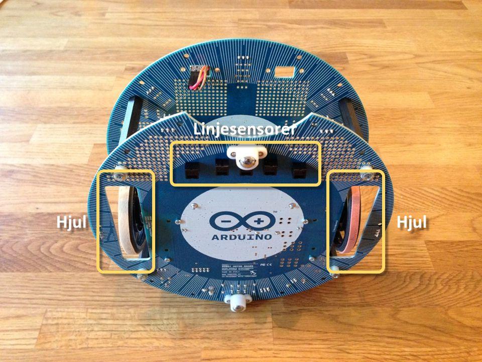 Ställa in Arduino (VIKTIGT) Viktigt att välja Arduino Robot Control innan man skickar programmet till roboten