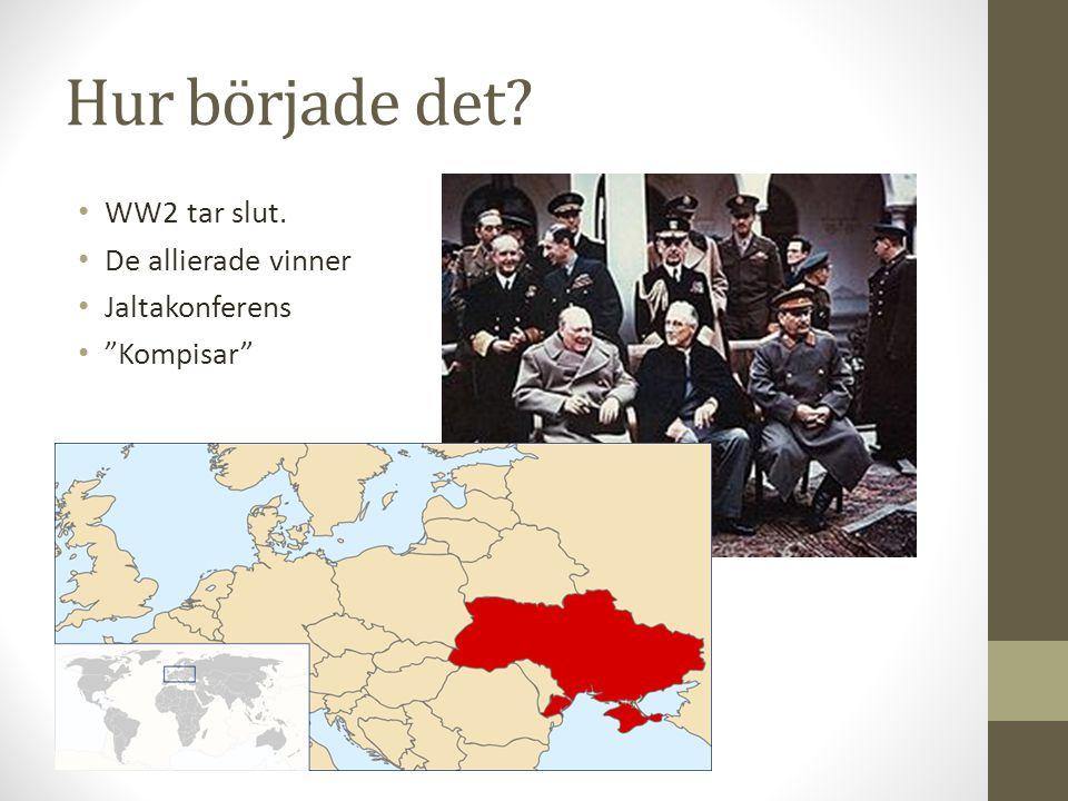 """Hur började det? WW2 tar slut. De allierade vinner Jaltakonferens """"Kompisar"""""""