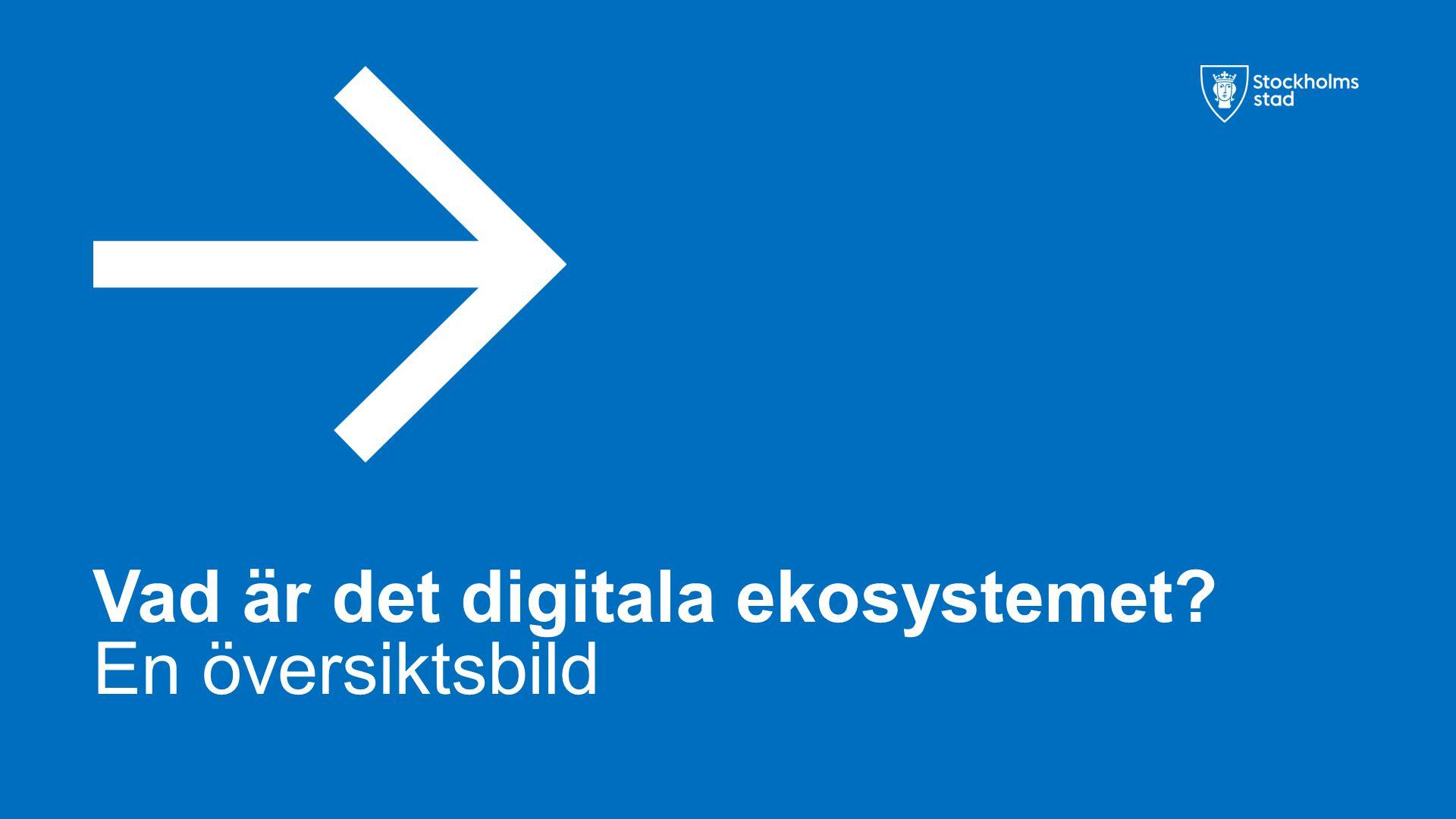 Vad är det digitala ekosystemet? En översiktsbild