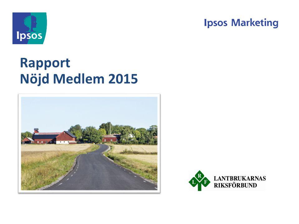 Rapport Nöjd Medlem 2015
