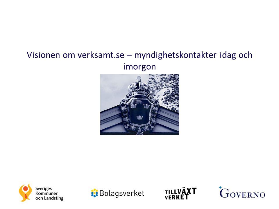 Visionen om verksamt.se – myndighetskontakter idag och imorgon 14
