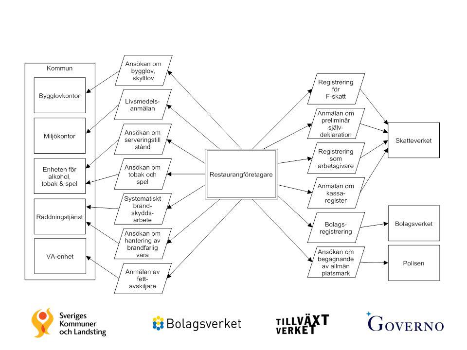 20 Insatsområde 1: Kartlägga uppgiftskrav och utveckla guider Kartläggning av kommunala uppgiftskrav/tillstånd.