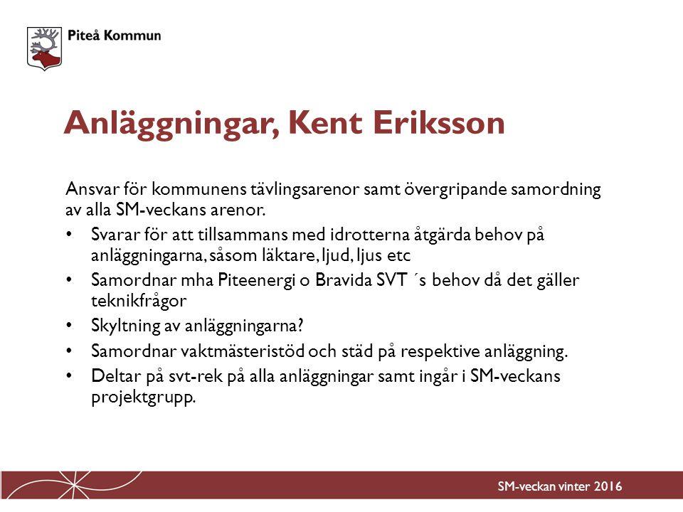 Ansvar för skolaktiviteter åk 1-9 samt arrangemang på Lindbäcksstadion samt Nolia/Norrstrand.