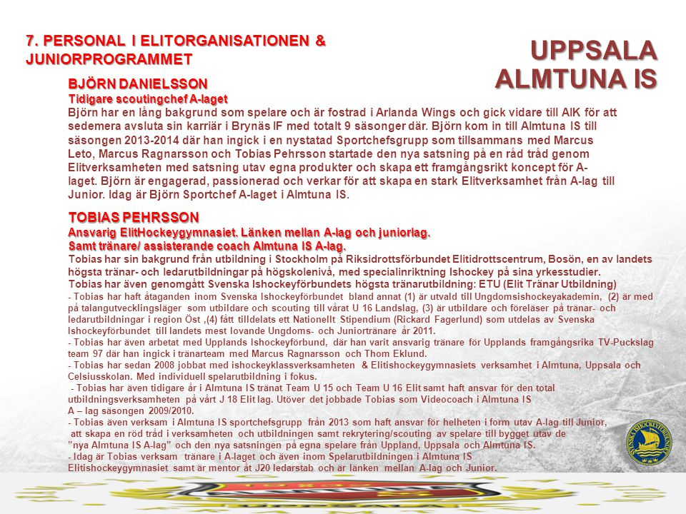 UPPSALA ALMTUNA IS 7.
