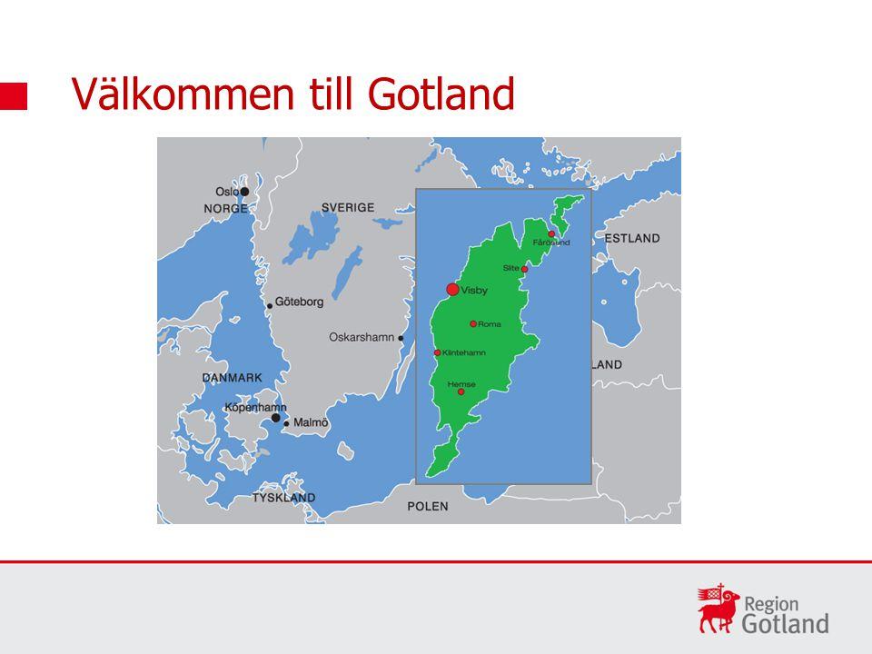 Gotlands vision Gotland är Östersjöregionens mest kreativa och magiska plats, präglad av närhet, hållbar tillväxt och fylld av livslust.