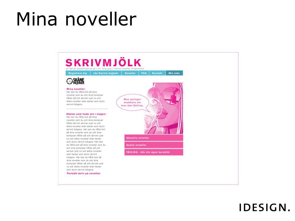 Mina noveller