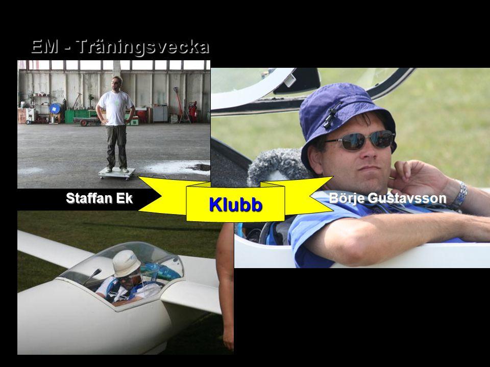 EM - Träningsvecka Klubb Börje Gustavsson Staffan Ek