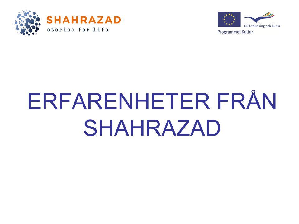 ERFARENHETER FRÅN SHAHRAZAD
