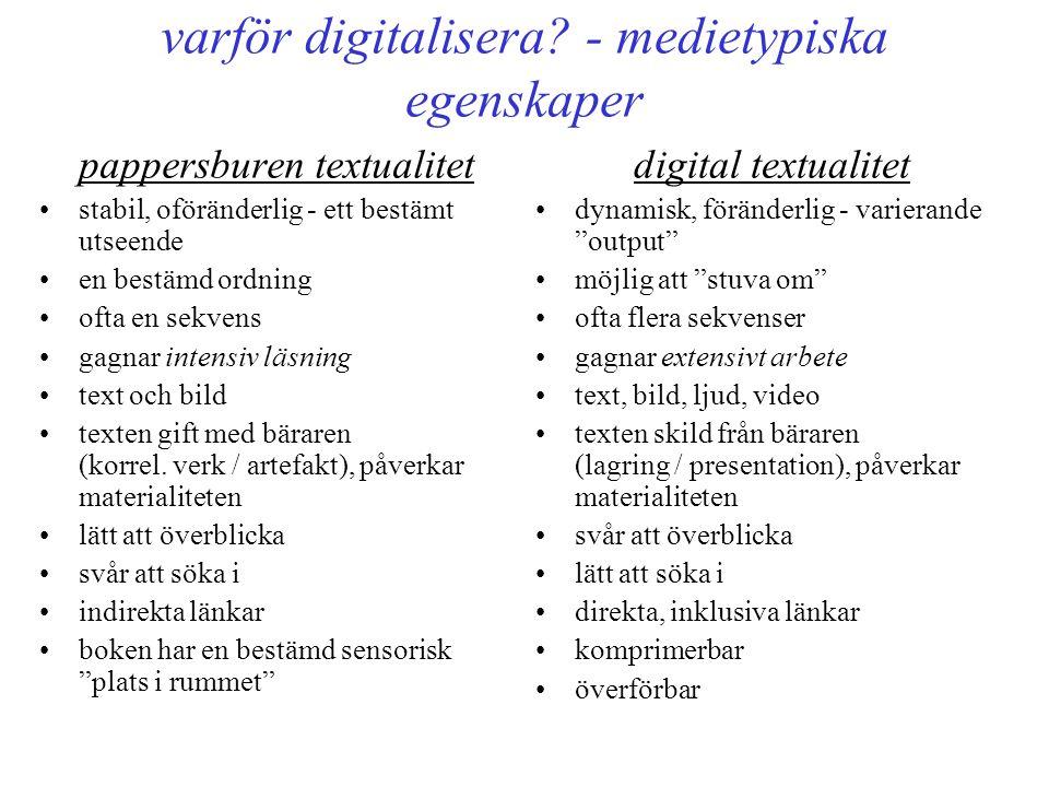 varför digitalisera.