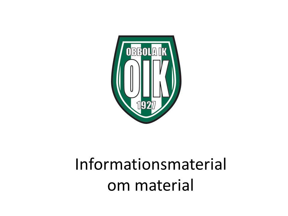 Informationsmaterial om material