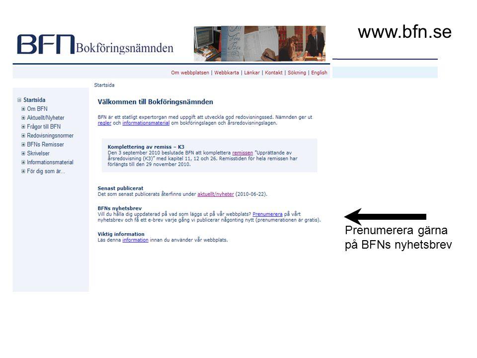 27 www.bfn.se Prenumerera gärna på BFNs nyhetsbrev