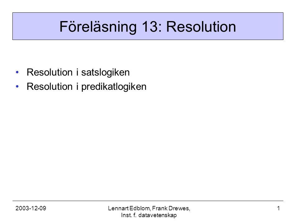 2003-12-09Lennart Edblom, Frank Drewes, Inst. f.