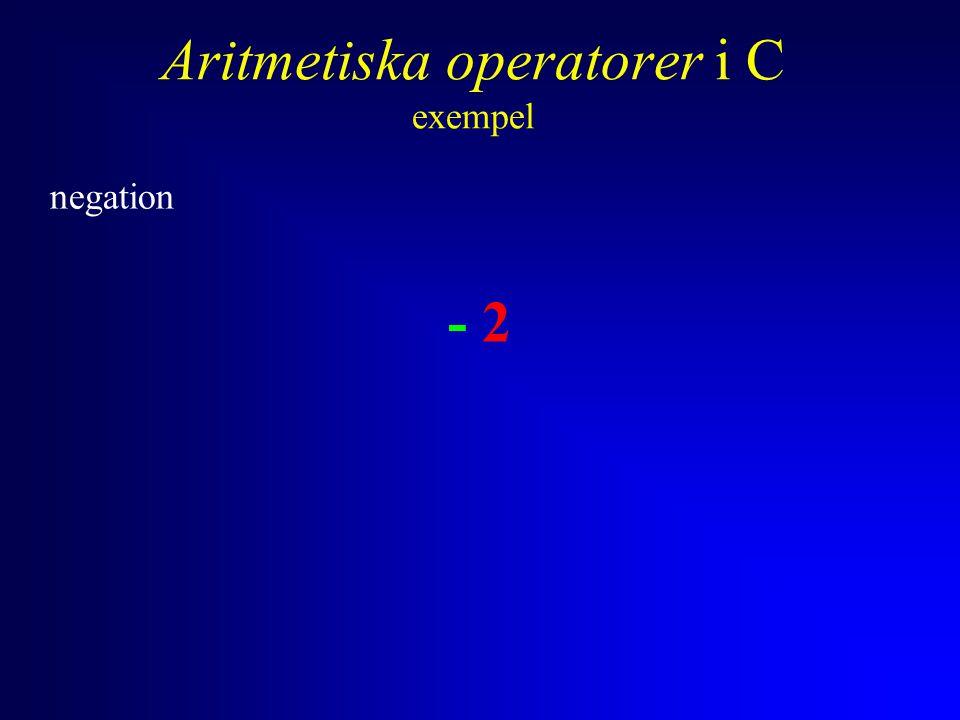 Anders Sjögren Villkorsoperatorn den enda operatorn med tre operander